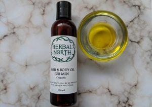 Body Oil for Men